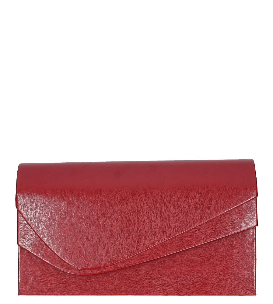 Czerwona torebka wizytowa M01C
