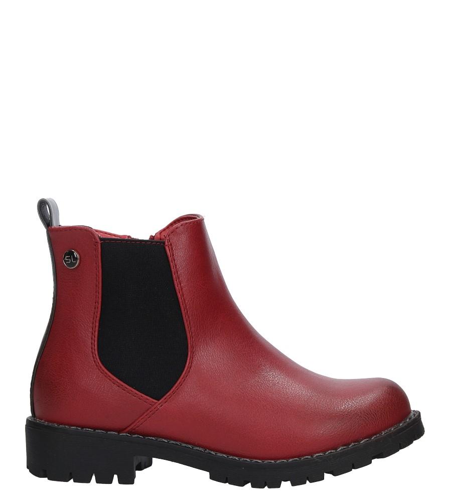 Czerwone botki Sergio Leone DZ025 model DZ025