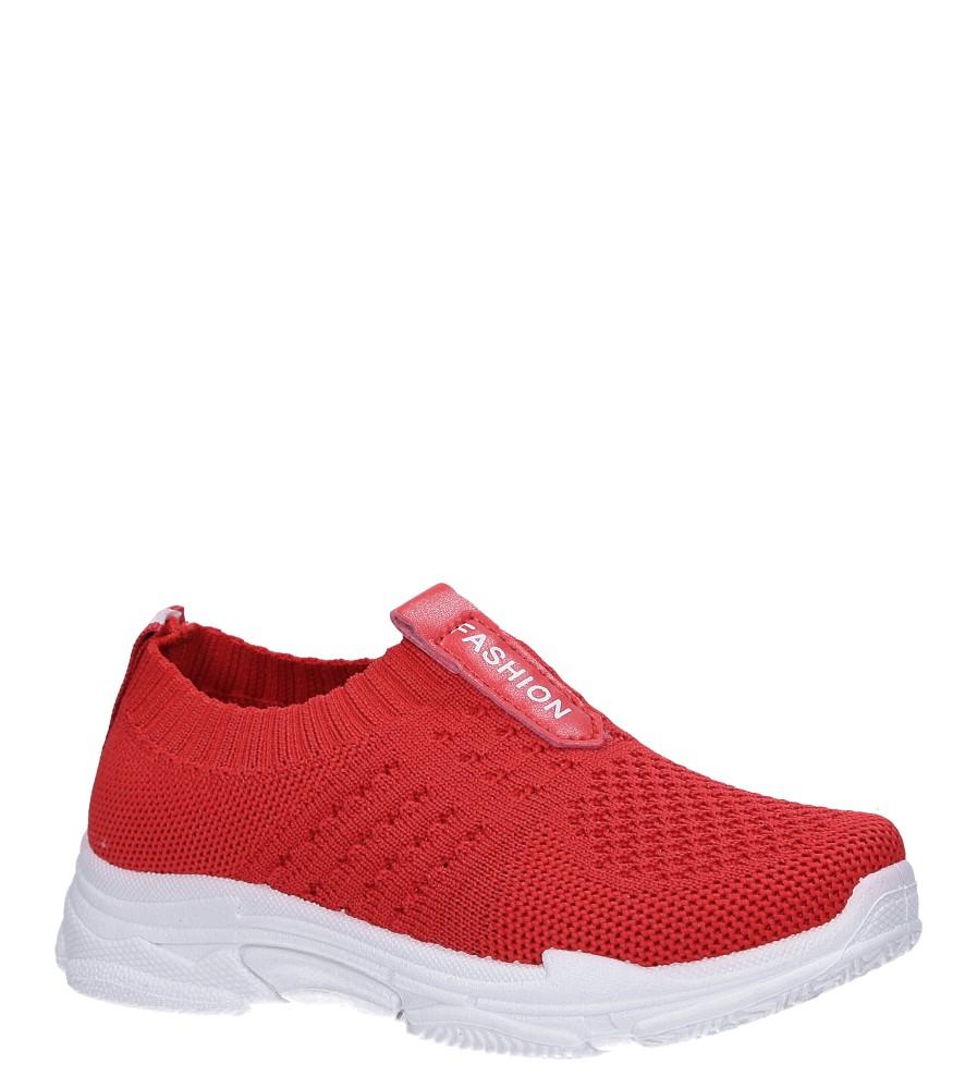 Czerwone buty sportowe Casu TZ2080