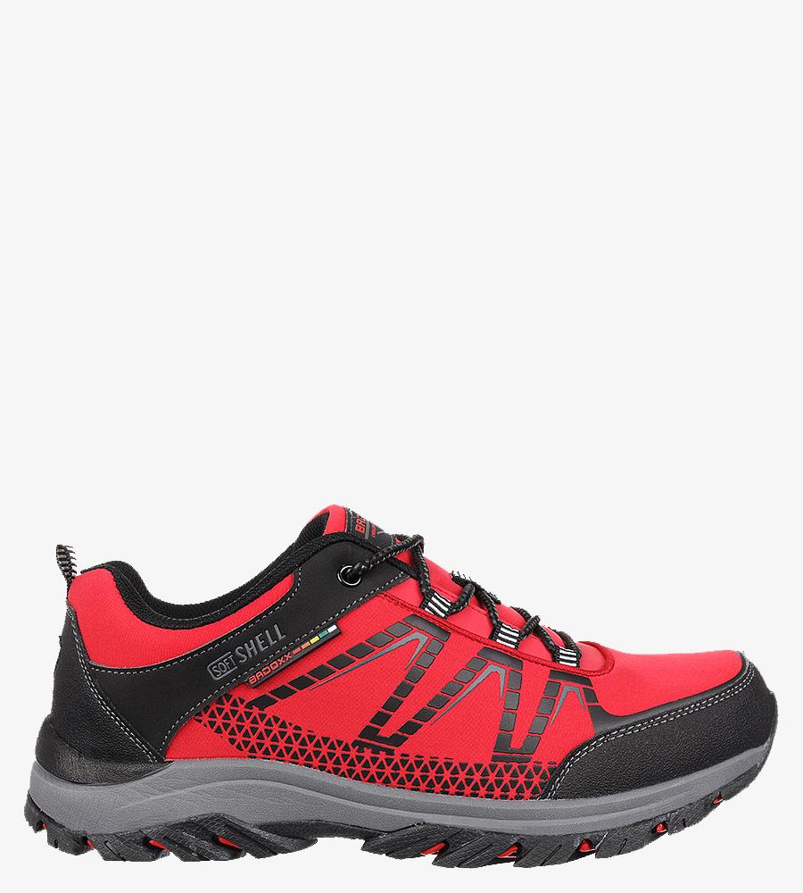 Czerwone buty trekkingowe sznurowane Casu MXC8108 producent Casu