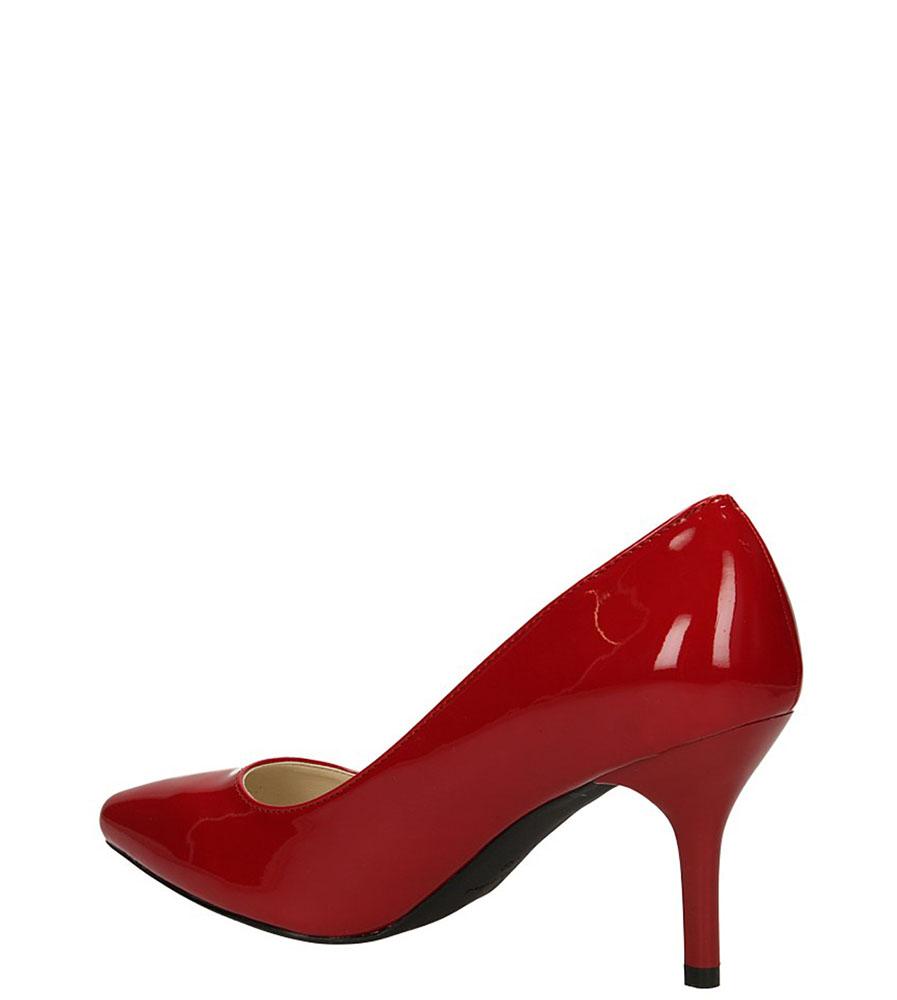 CZÓŁENKA SERGIO LEONE 293-1 kolor czerwony