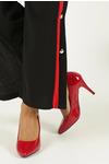 Czerwone szpilki czółenka lakierowane Sergio Leone 1399