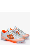 Szare buty sportowe orliki sznurowane Casu 21M1/M szary