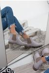 Szare sztyblety wiosenne Sergio Leone BT301-04M jasny szary