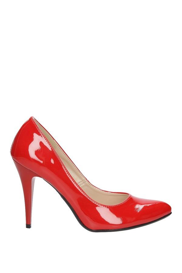 Szpilki Casu 1604 czerwony