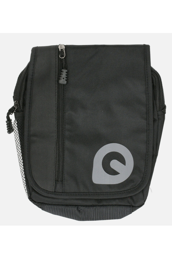 Czarna torba męska na ramię Casu 0368 czarny