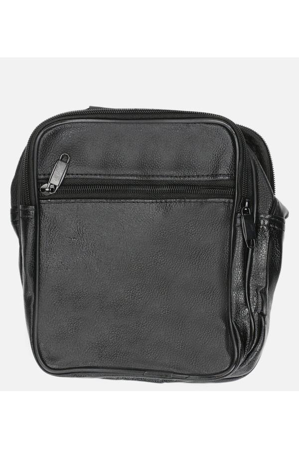 Czarna torba męska na ramię Casu 0986 czarny