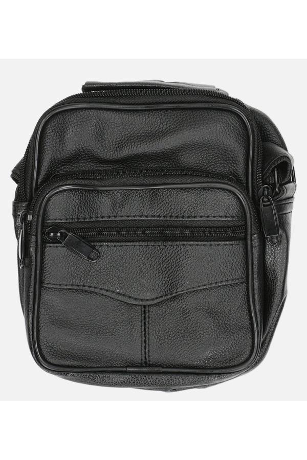 Czarna torba męska na ramię Casu 0988-2 czarny