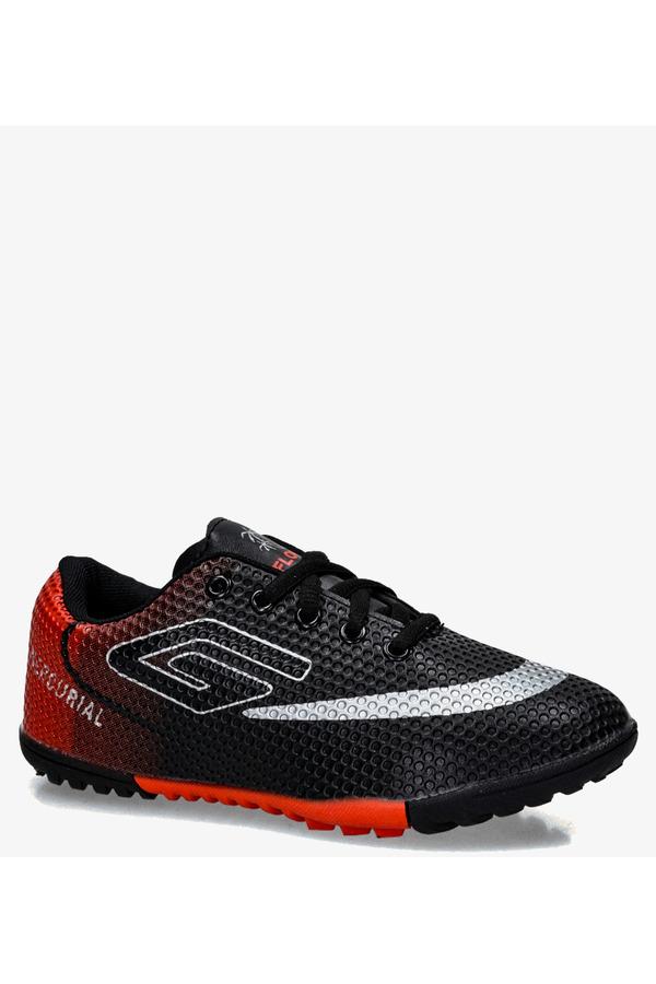 Czarne buty sportowe orliki sznurowane Casu 21M2/M czarny