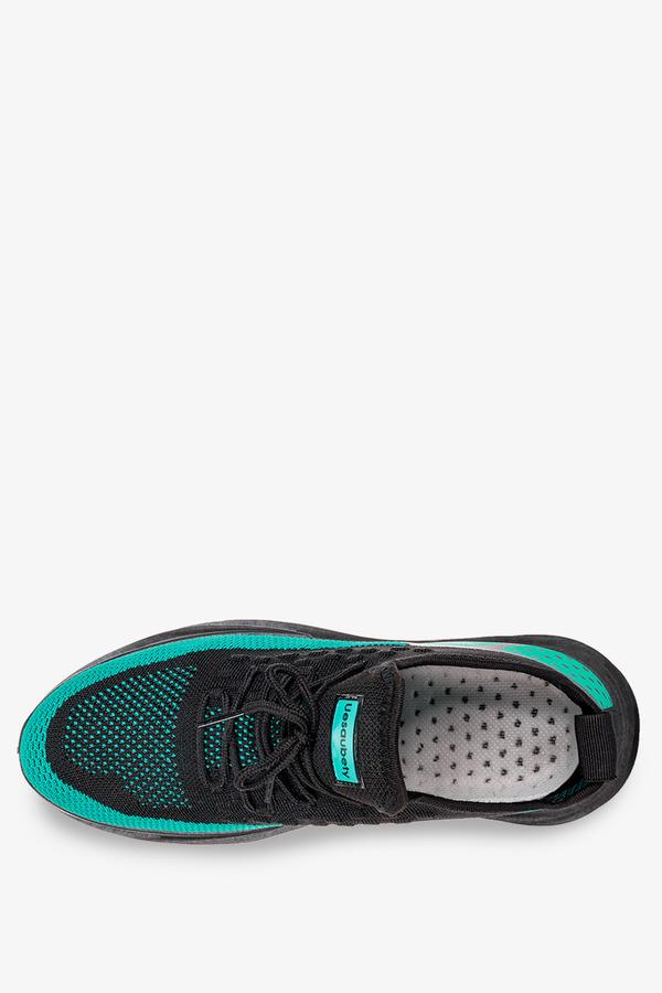 Czarne buty sportowe sznurowane Casu 21A4/BN