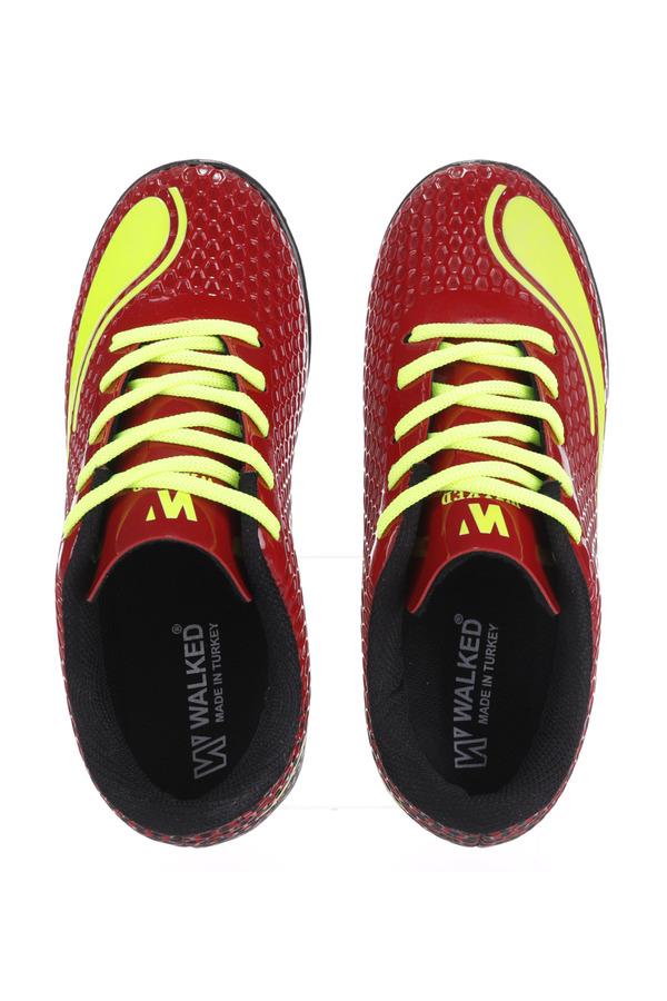 Czerwone buty sportowe orliki sznurowane Casu D415-3 czerwony