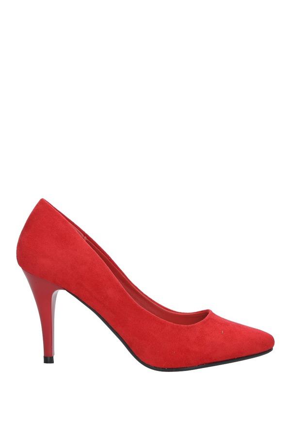 Czerwone szpilki czółenka Sergio Leone 1399