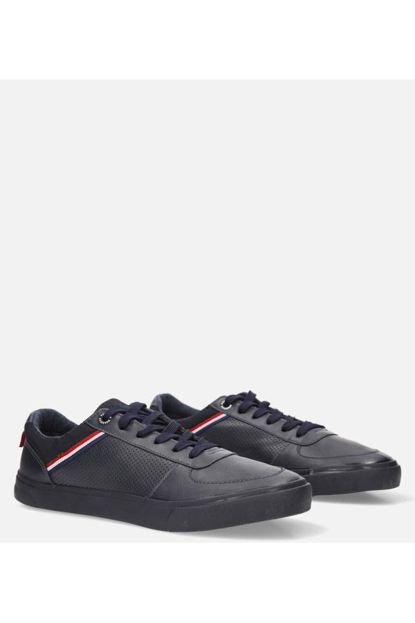 Granatowe buty sportowe sznurowane Casu 20A15/N granatowy