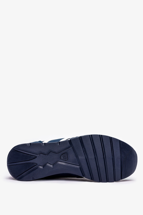 Granatowe buty sportowe sznurowane Casu 8218-2 granatowy