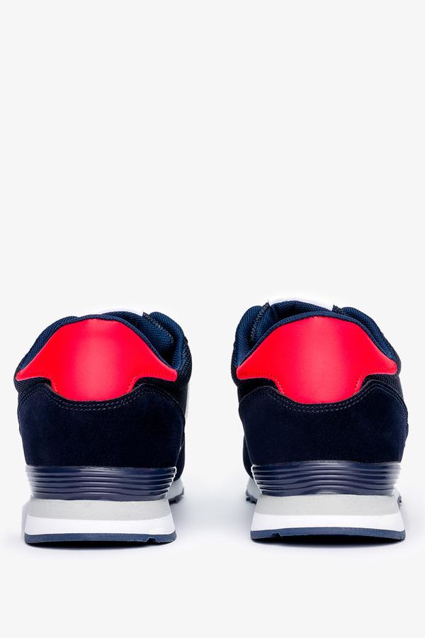 Granatowe buty sportowe sznurowane Casu 9-K2161B granatowy