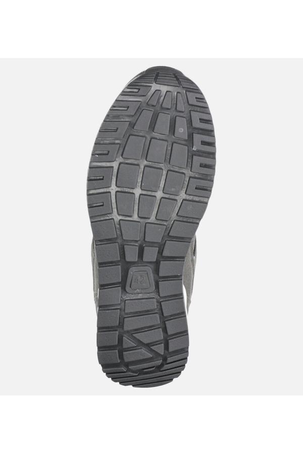 Szare buty sportowe sznurowane Casu US11025-3 szary