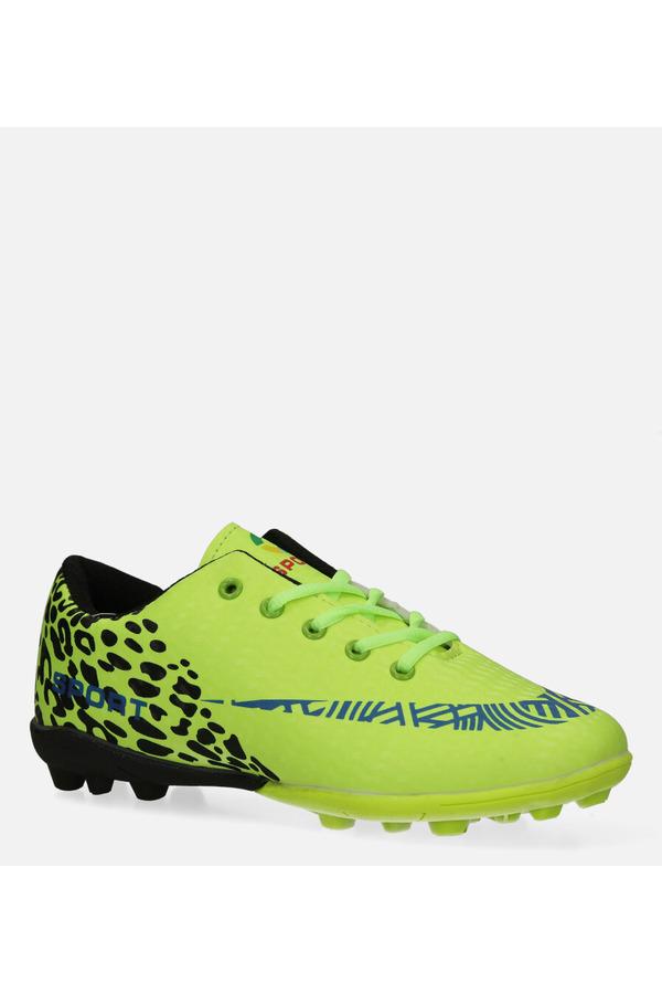 Zielone buty sportowe korki sznurowane Casu 20M1/M seledynowy