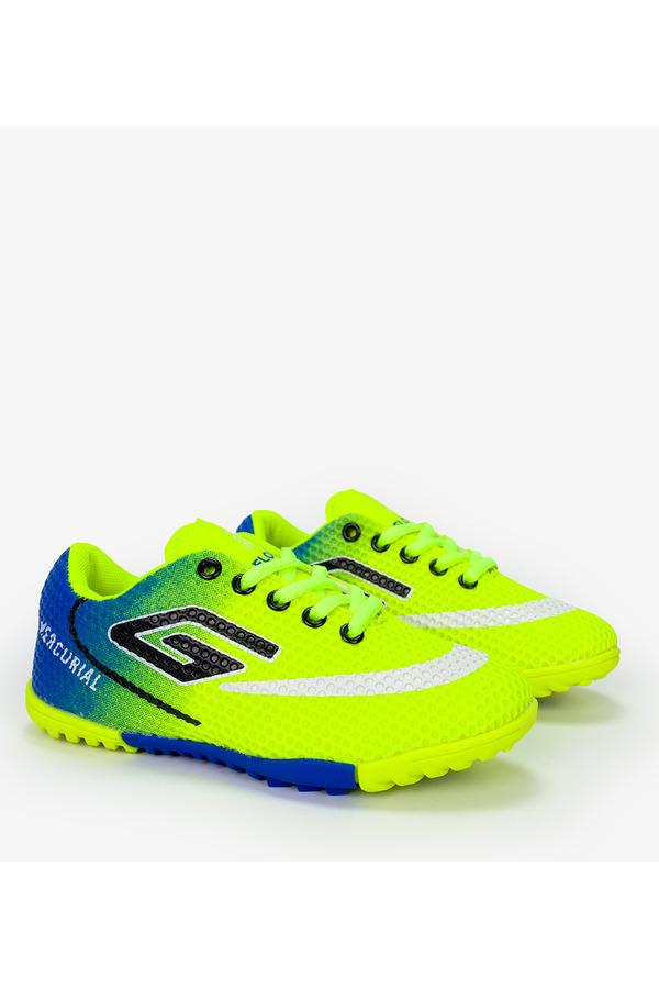 Żółte buty sportowe orliki sznurowane Casu 21M2/M żółty