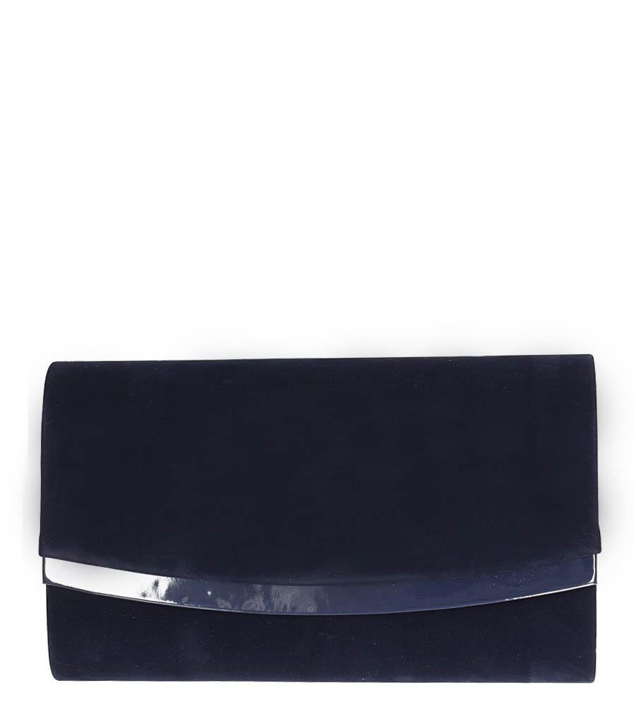 Granatowa torebka wizytowa Casu R-2D