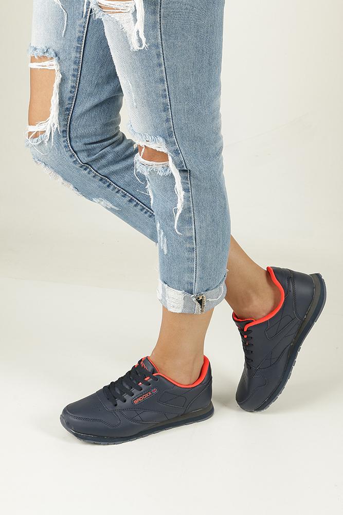 Granatowe buty sportowe Casu LXC7236