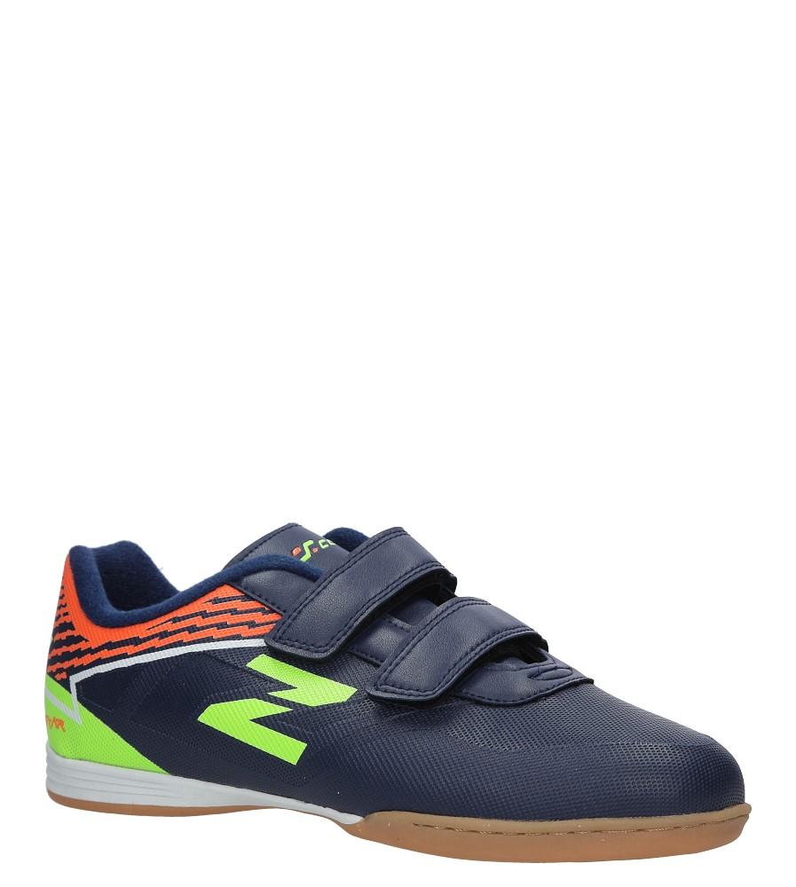 Granatowe buty sportowe Casu LXC7545