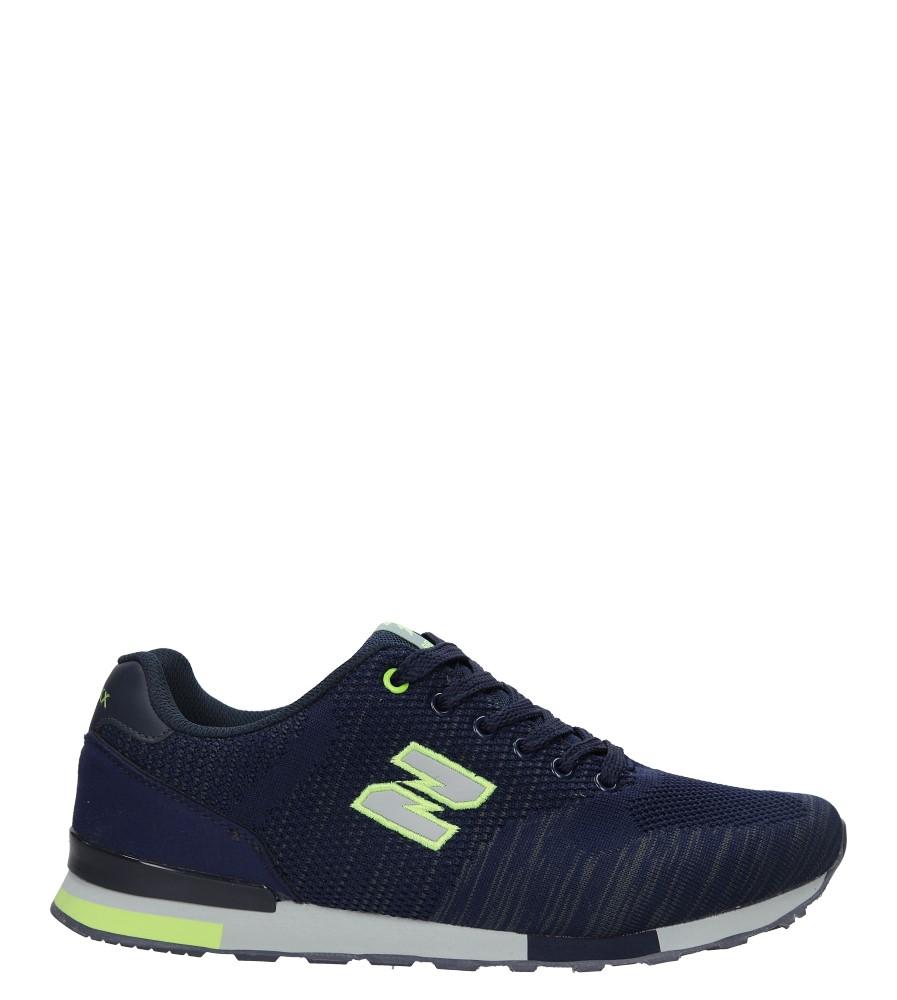 Granatowe buty sportowe Casu MXC7542