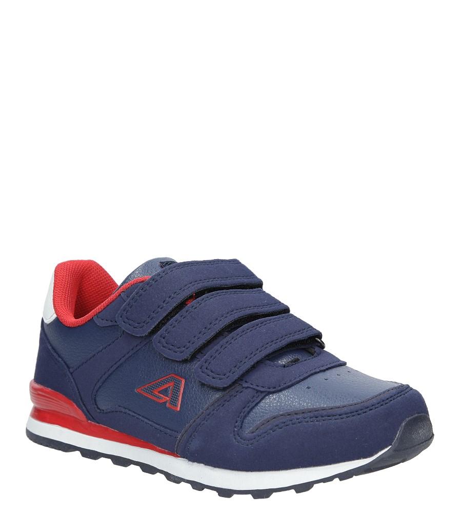 Granatowe buty sportowe na rzepy American 13 producent American