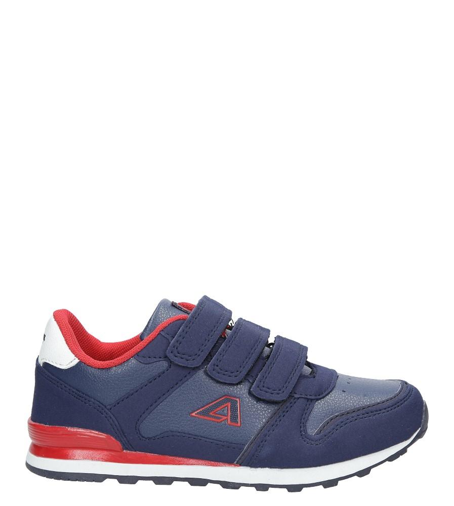 Granatowe buty sportowe na rzepy American 13