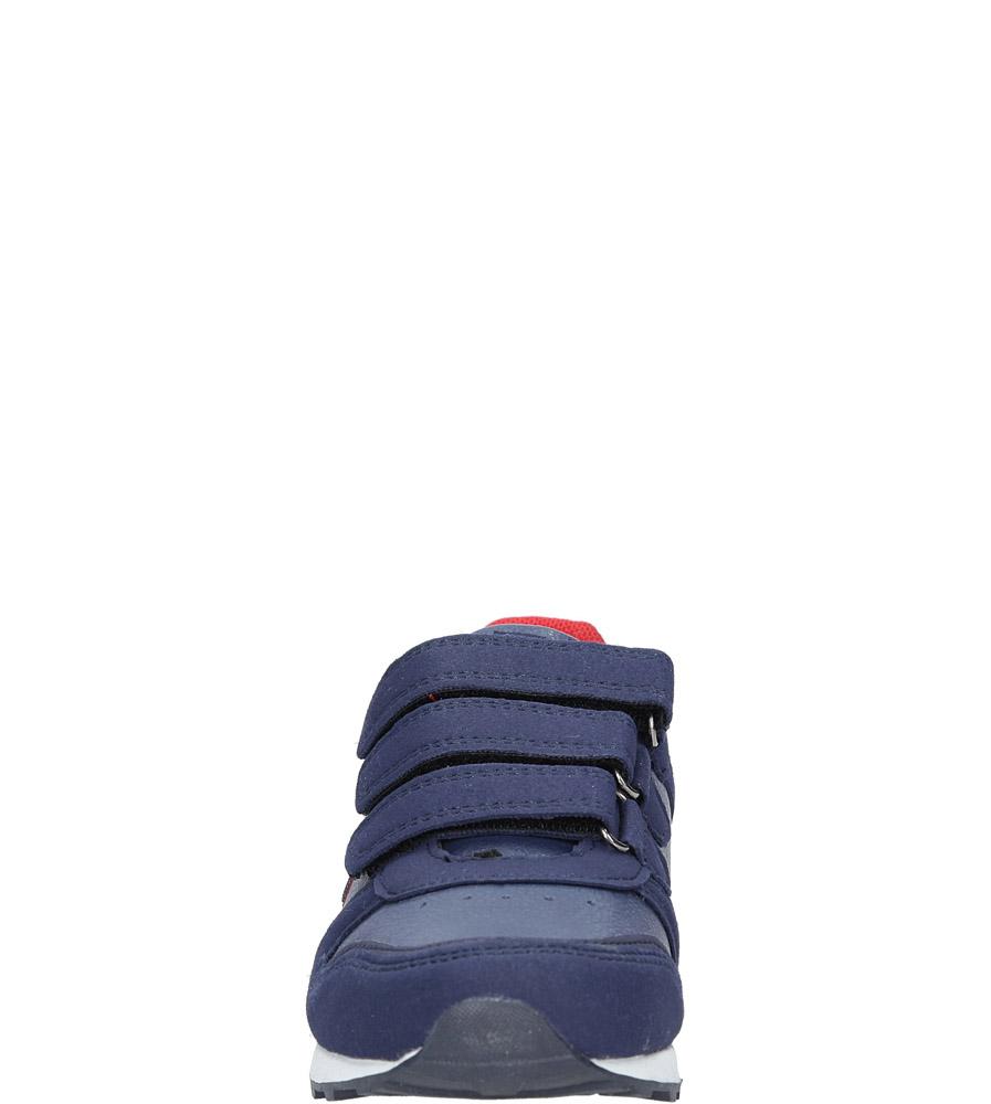 Granatowe buty sportowe na rzepy American 13 sezon Całoroczny