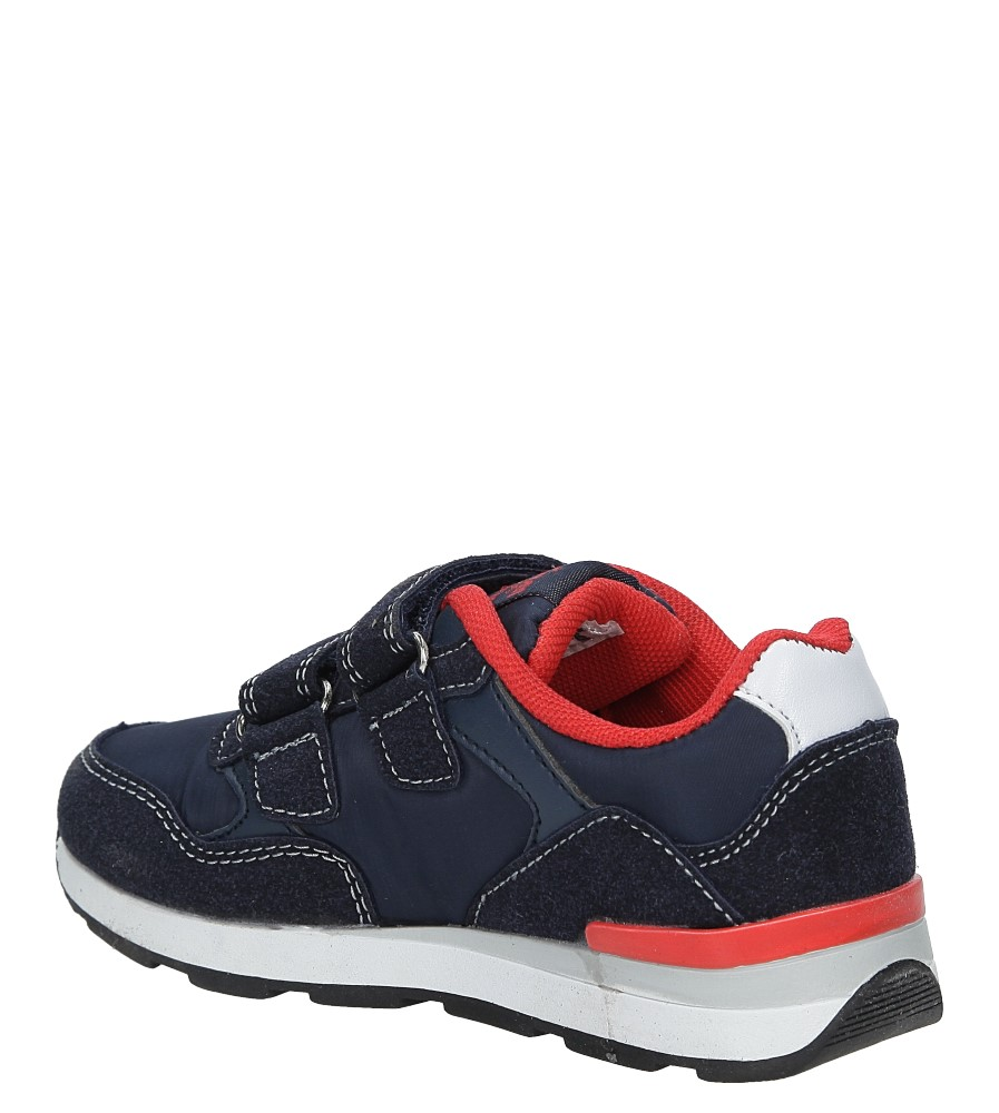 ef1b051d874e11 ... Granatowe buty sportowe na rzepy American BS-C2909 kolor granatowy ...