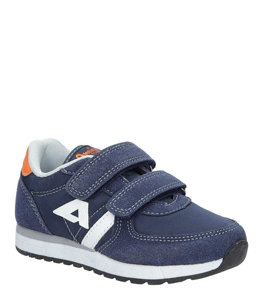 7811ed2101c080 Granatowe buty sportowe na rzepy American BS-C2922 producent American
