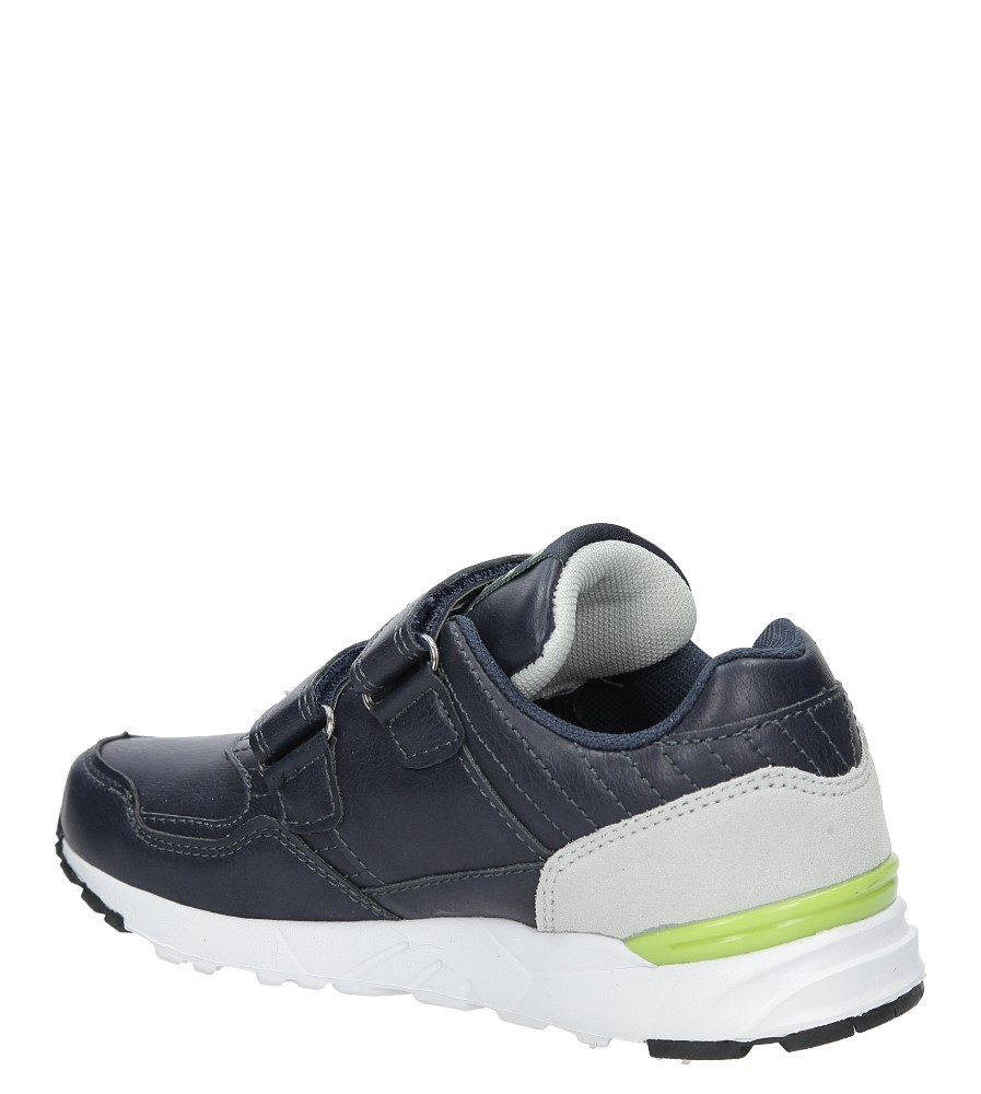 Granatowe buty sportowe na rzepy  American C3759 kolor granatowy