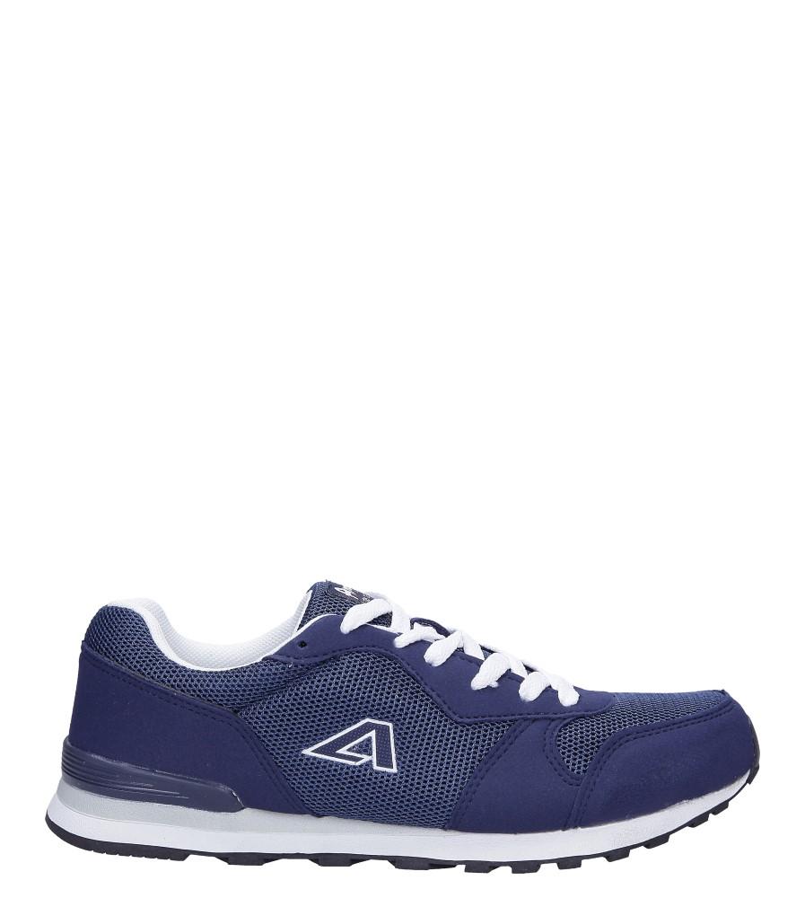 Granatowe buty sportowe sznurowane American 12
