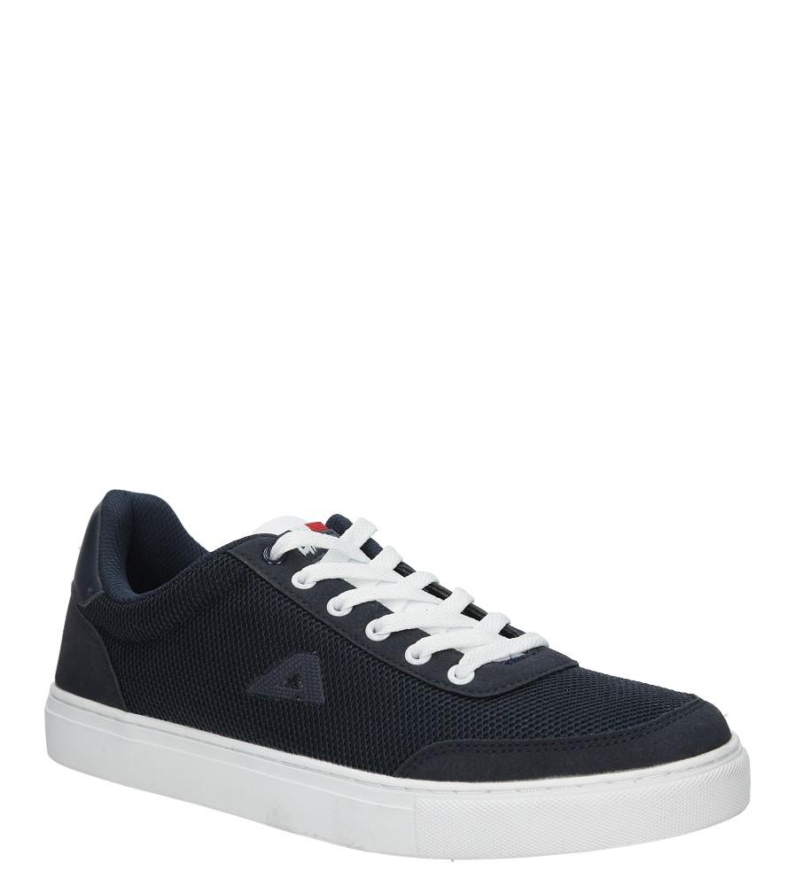 Granatowe buty sportowe sznurowane American FH17005