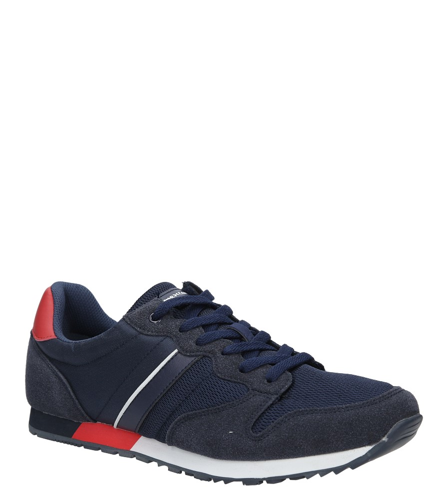 Granatowe buty sportowe sznurowane American FH17014 producent American