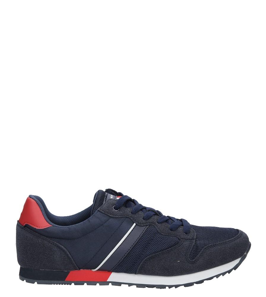 Granatowe buty sportowe sznurowane American FH17014 model FH17014