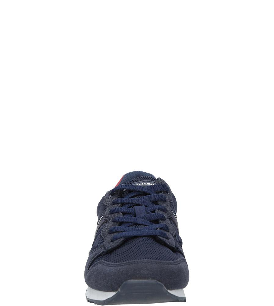 Granatowe buty sportowe sznurowane American FH17014 sezon Całoroczny