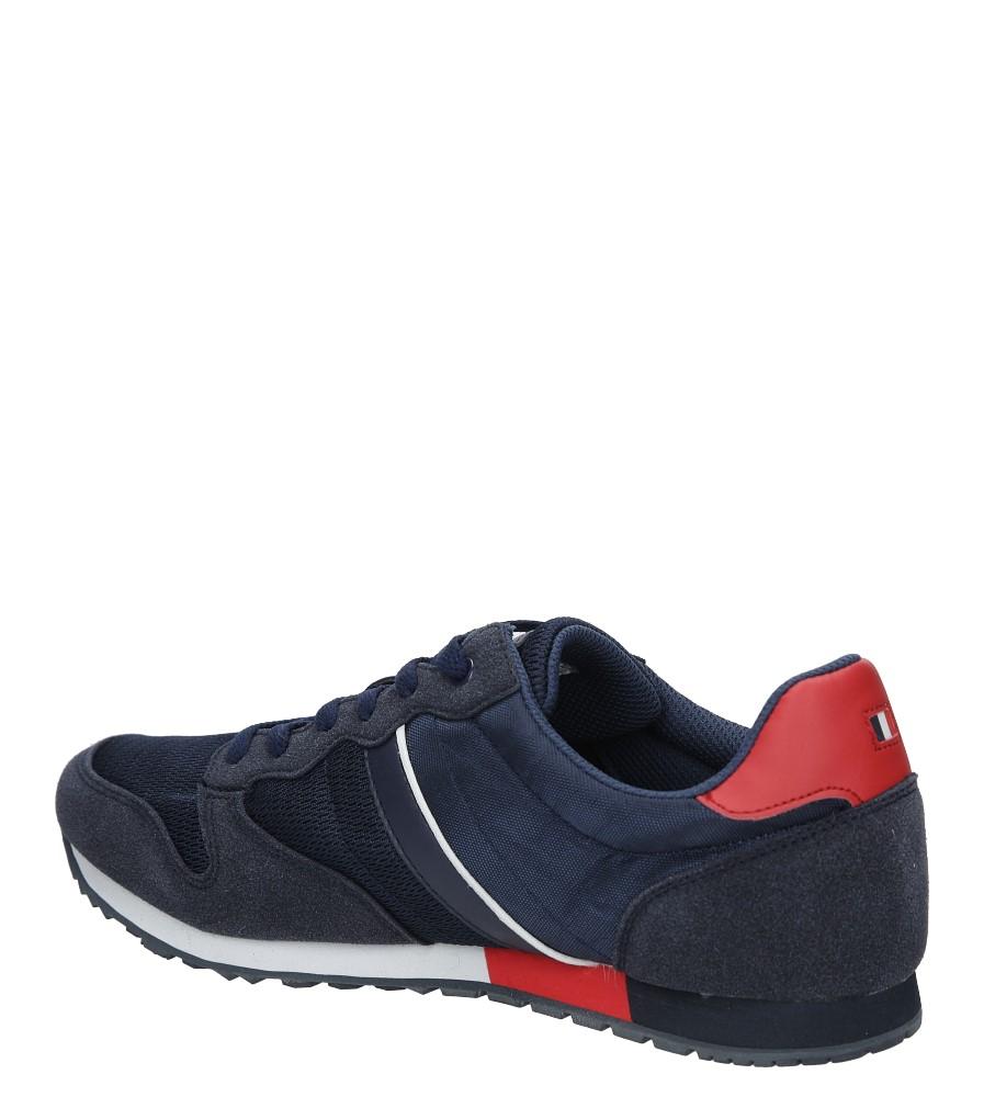 Granatowe buty sportowe sznurowane American FH17014 kolor granatowy