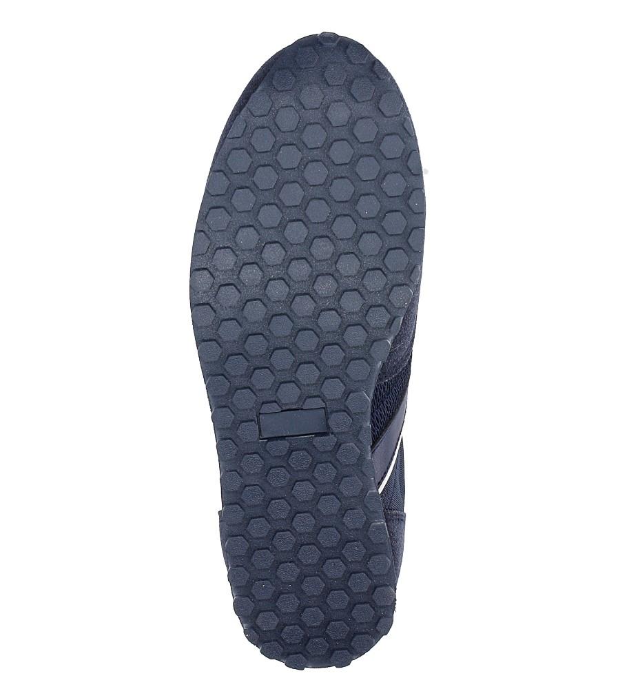 Granatowe buty sportowe sznurowane American FH17014 wys_calkowita_buta 12.5 cm