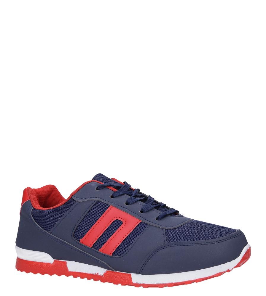 Granatowe buty sportowe sznurowane Casu 17009-27 producent Casu