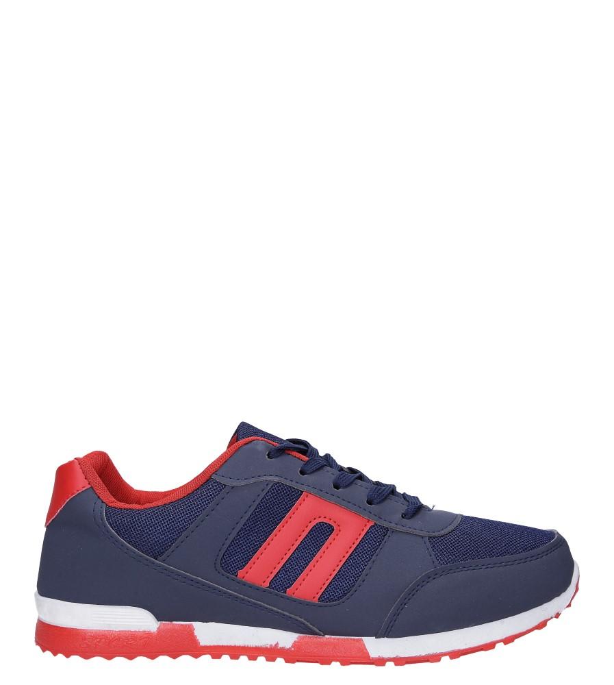 Granatowe buty sportowe sznurowane Casu 17009-27