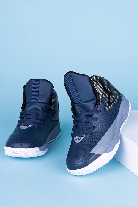 Granatowe buty sportowe sznurowane Casu 201A/BG producent Casu