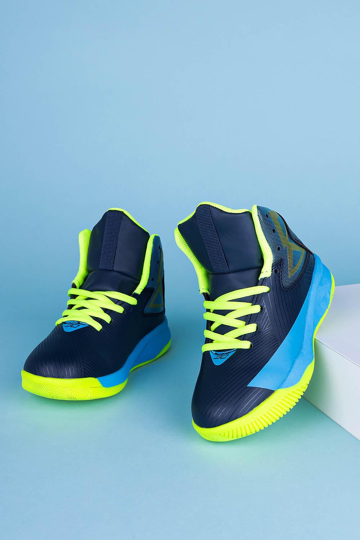 Granatowe buty sportowe sznurowane Casu 201A/BY producent Casu