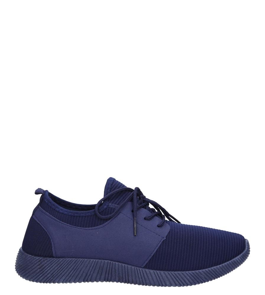 Granatowe buty sportowe sznurowane Casu 2951  model 2951/2591