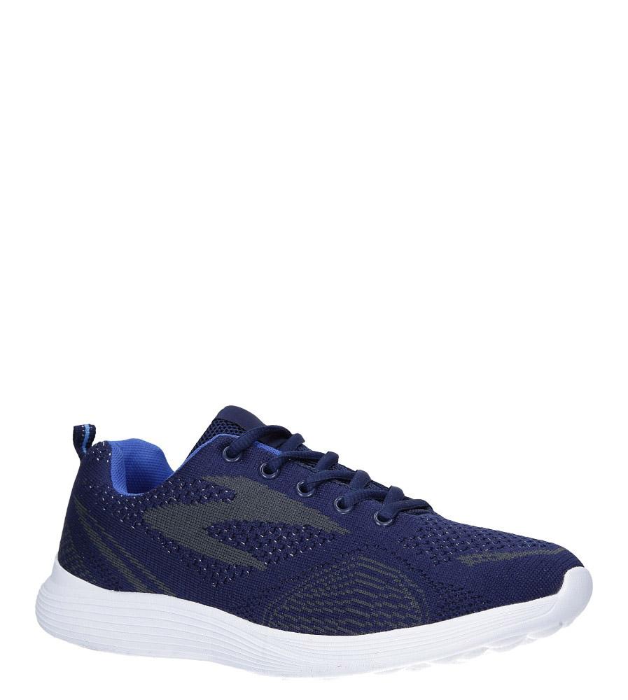 Granatowe buty sportowe sznurowane Casu 5042-4