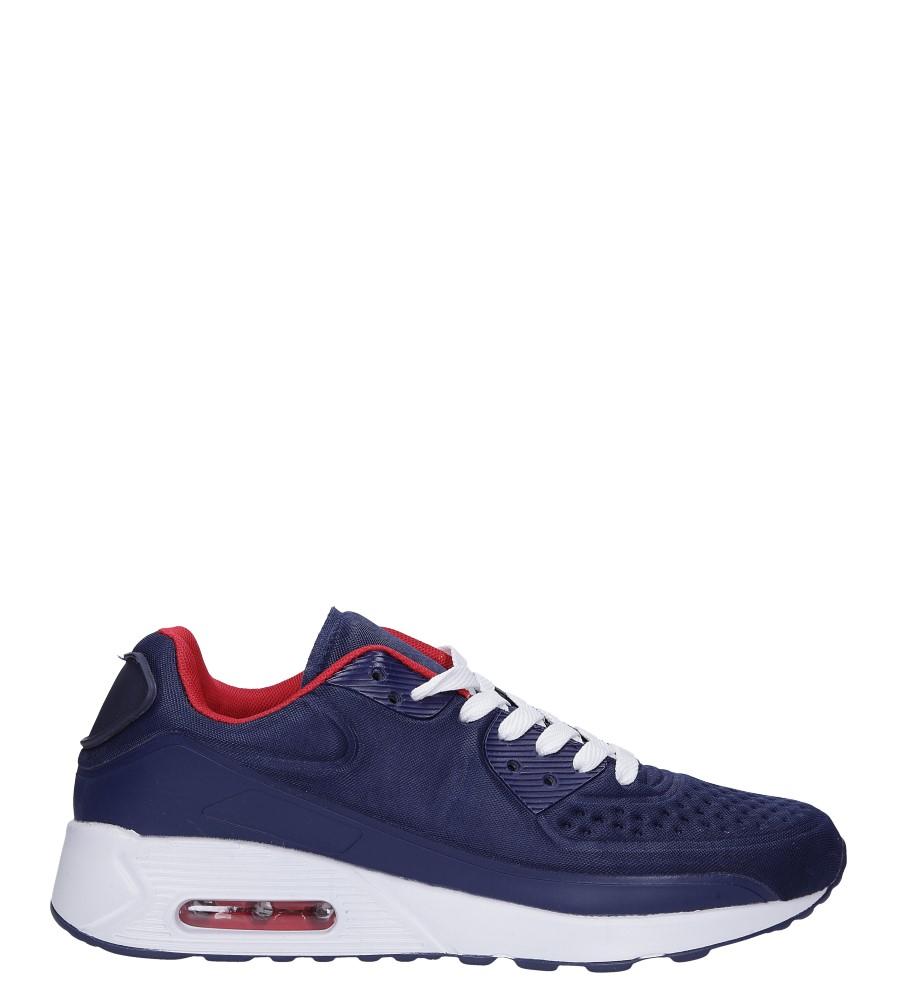 Granatowe buty sportowe sznurowane Casu 8867-1 model 8867-1