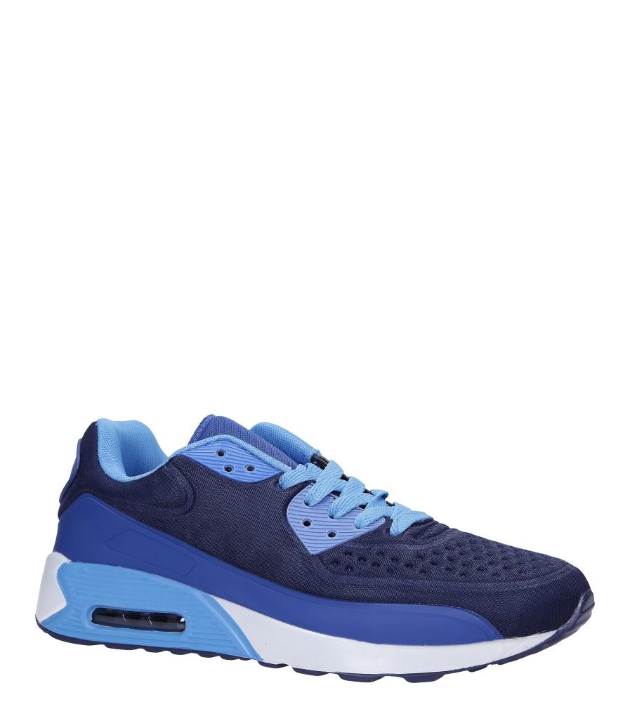 Granatowe buty sportowe sznurowane Casu 8867-5