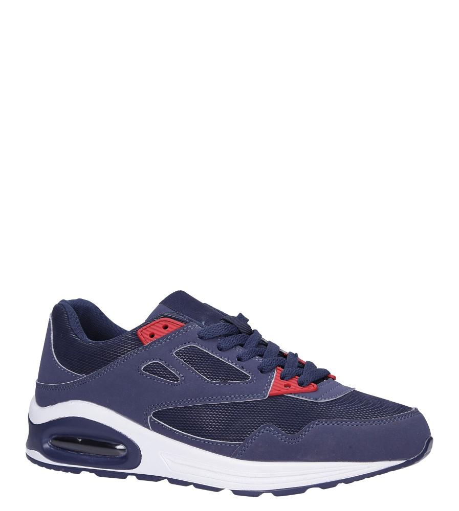 Granatowe buty sportowe sznurowane Casu 903-2