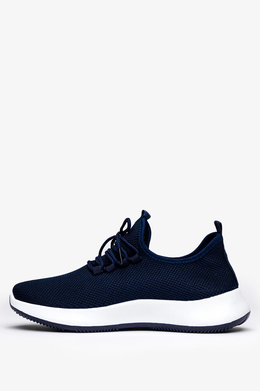 Granatowe buty sportowe sznurowane Casu H214-2