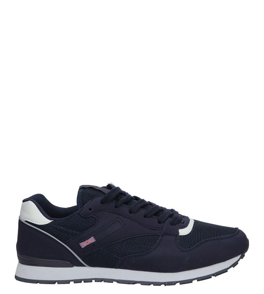 Granatowe buty sportowe sznurowane Casu M81-57